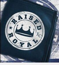 KC Kansas City Royals Sweatshirt Blanket Raised Royal Farmland Snuggie Promo SGA