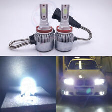 NEW H8 H9 H11 H16 6000K White 8000LM CREE LED Headlight Bulbs Kit High Low Beam