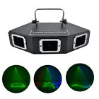 3 Lens RGB Laser Moving Ray Scan Projector Light DMX Club DJ Show Stage Lighting