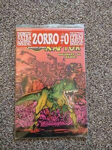 JURASSIC PARK RAPTOR 1 COMIC TOPPS NEW SEALED + 3 CARDS 1992