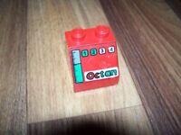 Lego 2 x Kasten Schlauchhalter 4209 rot 2x4x2