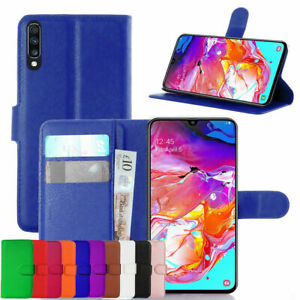 For Samsung PU Phone Case Leather Flip Magnetic Stand Gel Wallet Book Cover