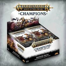 Warhammer Age of Sigmar: Champions - Wave 1 Booster Display - Englisch