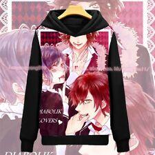 Game DIABOLIK LOVERS Otaku Pullover Hooded Sweatshirts Hoodies Coat S-XXXL #A-98