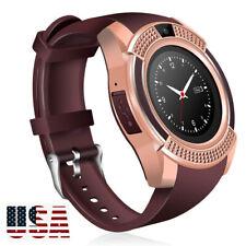 Men Women Bluetooth Sport Smart Watch For Android Phones Samsung Motorola LG ZTE