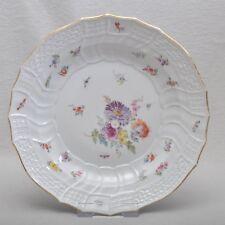 Meissen Blumen & Insekten, Neubrandenstein Teller / Speiseteller 25cm, 1.Wahl