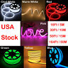 DC12V LED Flex Neon Rope Light Waterproof Wedding Party Sign Board Tent Decor US