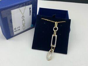 Swarovski Kette 909926 Halskette 45 cm. Goldfarbig. Neuware