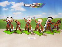 Britains Deetail Wild West Indians (lot 3386)