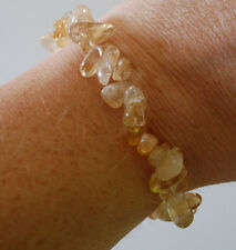 CITRINE HEALING CRYSTAL BRACELET - WEALTH, JOY OF LIFE