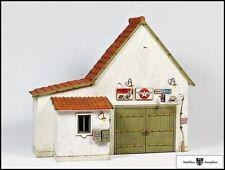 """Relieffassade """"Weiße Werkstatt mit Erker"""" - Fertigmodelle - 1:32"""
