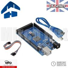 Arduino MEGA2560 R3 ATmega2560 16AU Compatible Board CH340G + USB Cable - TESTED
