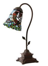 Tiffany Style Stained Glass Keepsake Arm Lamp Urn - Heavenly Dove - ON SALE!!!