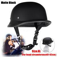 Motorbike German Style Half Face Helmet Motocross ATV QUAD Chopper Cruiser Biker