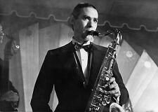 Photo originale Pierre Clémenti loup des steppes Hermann Hesse saxo jazz