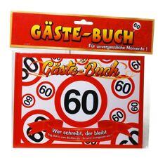 *Gäste Buch zum 60. Geburtstag*Erinnerungsbuch* *Party*Geschenk*