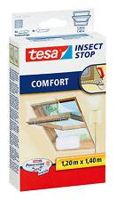 Tesa Fliegengitter Comfort für Dachfenster 1,20m x 1,40m weiß NEU