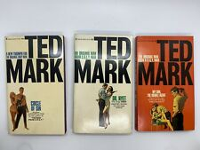Ted Mark ORGY 3 Spy Sleaze PB: Son Double Agent, Dr. Nyet, Circle Sin Sex 60