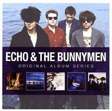 Echo & The Bunnymen ORIGINAL ALBUM SERIES Box Set PORCUPINE Ocean Rain NEW 5 CD