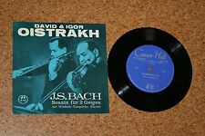 Single David & Igor Oistrakh Oistrach J.S. Bach Sonate für 2 Geigen Violine M969