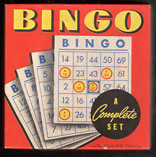 Vintage Whitman Publishing - Bingo Game (w/ 8 cards) No. 3977 (New in Box)