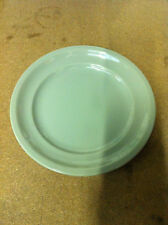 Harfield Polycarbonate Side Plate  16.5 cm  Grey/Green