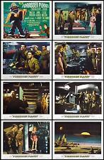 FORBIDDEN PLANET Complete Set Of 8 Individual 8x10 LC Prints 1956 SCI-Fi