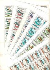 USSR 1977..AIR POST n° YT 124-129..HISTORY OF THE RUSSIAN AVIATION (6 SHEETS)
