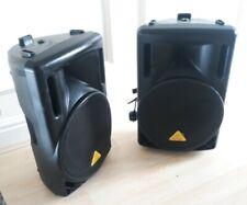 More details for pair behringer eurolive b212d speakers