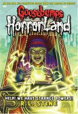 r.l. Stine _HELP ! We Have Strange Powers! _ Goosebumps Horrorland __ BRANDNEU