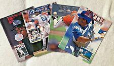 Lot of 4 - Consecutive 1993 Beckett Baseball Magazine w/Ken Griffey, Jr.!