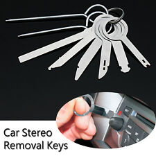 8Pcs/Set Car Radio Stereo Sound Audio GPS Part Release Removal Keys Metal Tool
