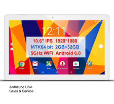 "alldocube USA 10.6"" IPS 2GB/32GB Quad code WIFI BT Gaming Android 6.0 Tablet PC"