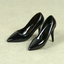 1/6 Scale Phicen, Hot Toys, Kumik, Cy, PT Female Black Glossy Sharp Heel Shoes