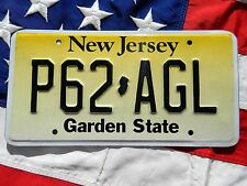 NEW JERSEY license licence plate plates USA NUMBER AMERICAN REGISTRATION