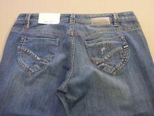 028 Mens Levi's 501 Reg Str8 DK Blue Grain Jeans Sze 32 / 34 L .