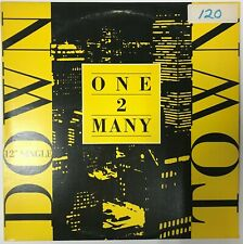 """One 2 Many : Downtown 12"""" vinyl  (Maxi) NM- A&M 1988"""