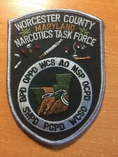 PATCH WORCESTER COUNTY POLICE DRUG NARCOTICS  TASK FORCE - MARYLAND STATE