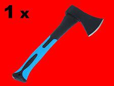 1 x Holz Axt Holzbeil 600 Gr. Forst Beil Holzfäller Handaxt Fiberglas Kurz XT040