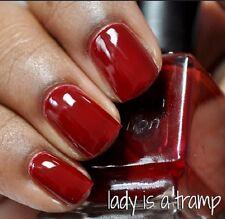 NEW! Deborah Lippmann LADY IS A TRAMP Polish Lacquer - MINI/Sample size RED