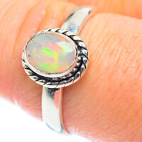 Ethiopian Opal 925 Sterling Silver Ring Size 9.25 Ana Co Jewelry R53508