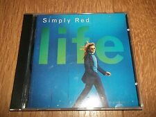 "SIMPLY RED "" LIFE "" 10 TRACK CD ALBUM - EXCELLENT CONDITION"