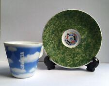 More details for ltd edition lavazza cafe des arts 1998 world cup vintage espresso cup & saucer
