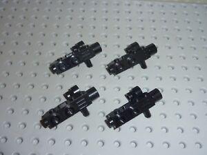 4 x LEGO Minifig Accessory Camera Black/ 4360 Set 10191/6210/6950/6211/7707/7744