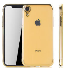 Apple IPHONE XR Case Phone Cover Protective Case Bumper Gold
