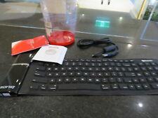 soniq cbk100 bluetooth wireless Rubber Waterproof Flexible Foldable Keyboard