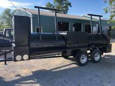 Counter Weights T Rex Bbq Smoker Grill Trailer Business Food Truck Catering