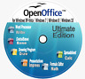 OpenOffice Pro 2018 for PCs with Microsoft Windows for Home-Office-School