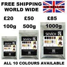 Sevich Keratin Hair Fibres Refill Pack 100g - 1kg Fiber loss grow growth regain