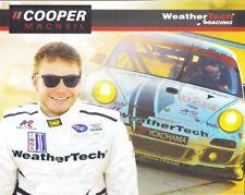 2012 Cooper MacNeil Alex Job Racing Weather Tech Porsche 911 GTC ALMS postcard